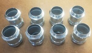 """Lot of 8 Hubbell Raco 2"""" EMT Connector Compression Steel Type"""