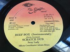 "Original 1954 Rap 12"" : Beef Box ~ Scratch Dub ~ Sexy Lady ~ 4 Sight 1-84-FS"