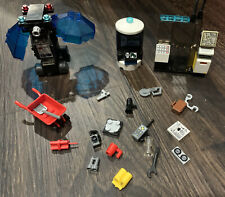 Lego LOT #2 30+ Black Grey Computer Tech Devices Radar Accessories Tools Office