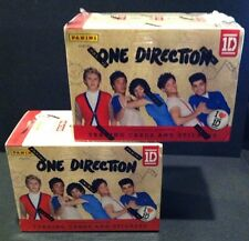 LOT of 2 ONE DIRECTION 2013 Panini BOX Sealed 8 PACKS in each Stardust INSERTS