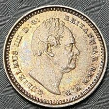 More details for 1835 william iiii three halfpence coin british silver 3 half penny pence unc