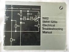 BMW 1982 528e  Electrical Troubleshooting manual genuine factory tool ! $21.90