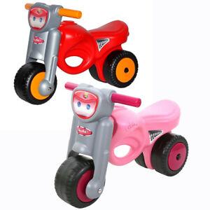 WADER Motorrad für Kinder COLOMA Kinderspielzeug Spielzeugmotorrad Rutscher