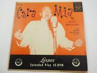 David Whitfield Cara Mia BEP 6225 EP45 Rpm Record 1955 excellent