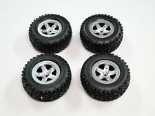NEW TRAXXAS SLASH 1/10 2WD Wheels & Tires Silver RL20U