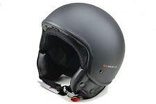 Kappa Moto Demi jet helmet. Matt black. Size 54/XS HKKV9BN90054