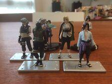 F/S NARUTO NINGYOUSHU Set Lot Sell 6pcs Rare  Mini figure BANDAI