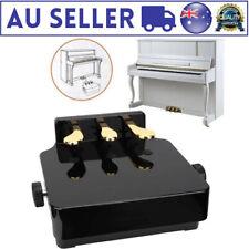 Black Piano Pedal Extender Bench Adjustable Height for Beginner Children Kids AU