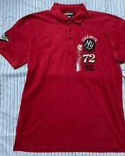 ECKO UNLTD Red color Polo T-Shirt, Street Art T-Shirt for men Size XL  NWT