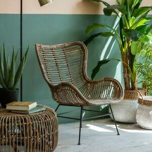 Frank Hudson Gallery Direct Kenda Rattan Lounger Chair