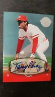 2004 Tony Perez Auto  SP #135 UD Timeless Teams   Short Print  !