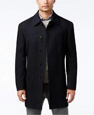 Ralph Lauren 48L Navy Herringbone 5 Button NWT Men's Overcoat / Pea Coat GS059