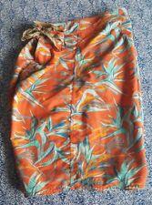 Patagonia Board/Swim Shorts, Men's X-Large (size 40). colorful/hawaiian