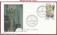ITALIA FDC ROMA SASSARI DISCESA DEI CANDELIERI 1988 TORINO Z273