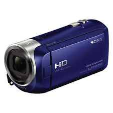 Sony HDR-CX240 Full HD Handycam Camcorder Blue with 54x Clear Image Zoom