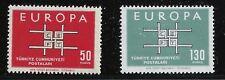 Turkey Scott #1602-03, Singles 1963 Complete Set FVF MNH