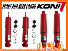 TOYOTA HILUX IFS 10/88-2004 KONI ADJUSTABLE FRONT & REAR SHOCK ABSORBERS