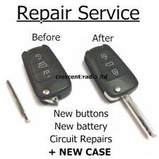 3 BUTTON REMOTE KEY FOB REPAIR SERVICE FOR HYUNDAI I20 I30 KIA + CASE + BATTERY