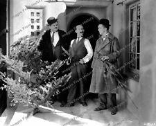 8x10 Print Laurel & Hardy James Finlayson Big Business 1938 #737LH