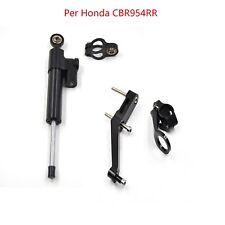 Ammortizzatore di sterzo il kit di montaggio set per Honda CBR954RR 2002-2003
