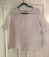 NEXT WHITE T SHIRT SMART TOP SIZE 12