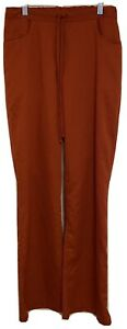 GREY'S ANATOMY Scrub Pants Burnt Orange Size ST