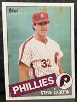 1985 Topps Baseball Steve Carlton #360 Philadelphia Phillies HOF