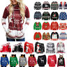 Christmas Clothes Womens Mens Xmas Sweater Jumper Winter Sweatshirt Pullover Top
