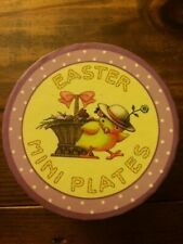 Set of Mary Engelbreit Easter Mini Plates