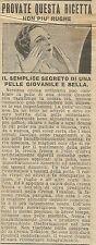W6423 Antirughe Tokalon - Pubblicità 1928 - Advertising