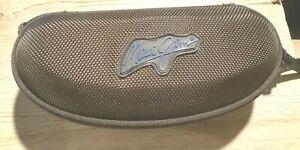 Maui Jim Brown Semi-Hard Sunglasses case Compact,Great Case Color Brown,unique