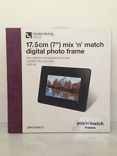 "7""Digital photo frame, with 1mix n match frame, auto slide show, USB&card reader"
