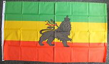 Ethiopian Lion Flag reggae Rastafarian Haile Selassie African Black Ethiopia bn