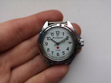 RARE COLLECTIBLE USSR WATCH VOSTOK KOMANDIRSKIE ZAKAZ MO CCCP WHITE Serviced