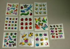 Vintage stickers, sandylion, 10 insects, bugs, bees, mods, make an offer