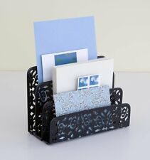 Letter Holder Mail Storage Desk Table Organizer Tray Decorative Home Office Gift