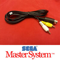 AV Audio Video Cable for the Sega Master System Model #3010 A/V BRAND NEW