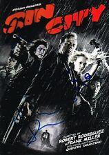 Sin City Cast SIGNED DVD Brittany Murphy Robert Rodriguez Josh Rosario Jamie COA