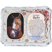 Horse Memorial Photo Frame-Bereavement, Tribute, RIP, Plaque, Pony Memorial Card