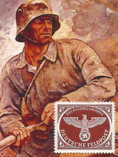 Nazi Germany POST 3rd Third Reich Army Eagle Feldpost postage stamp MNH