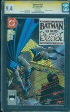 Batman 418 CGC SS 9.4 Jim Starlin Signed Mike Zeck KG Beast Classic 1988