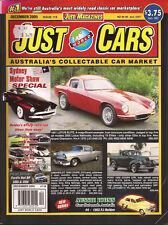 Just Cars Dec 05 Sydney Motor Show 06 DRB Cobra Ford FPV XR8 XR6T FJ 87 Covette