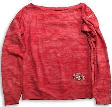 New San Francisco 49ers Nike Womens Warpspeed Epic Crew Small Sweatshirt