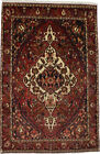 Garden Design Floral Style Vintage 7X10 Hand Knotted Oriental Area Rug Carpet