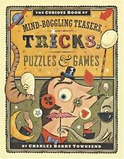 The Curious Book of Mind-Boggling Teasers, Tricks, Puzzles & Games-ExLibrary