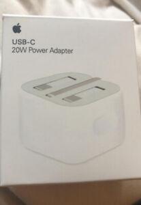 100% Genuine 20W USB TYPE C Power Charger Adapter UK Plug iPhone11 12 pro