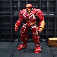18cm Avengers Endgame Iron Man Hulkbuster 2.0 Action Figure Mark Joints Move Toy