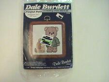 Dale Burdett Huggable Pal and Buffy Counted Cross Stitch Kit Pitiful Pals NOS