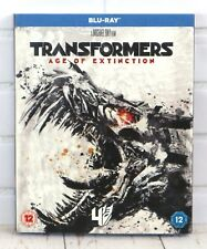 Transformers 4 Age Of Extinction Blu-Ray Brand New Sealed With Sleeve