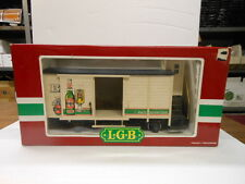 LGB G Scale 4026 Beck's Beer with Lighted Brakeman Cab
